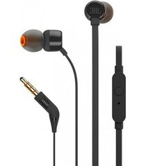 audifonos jbl t110 wired - negro