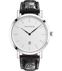 reloj análogo f0108g-1 hombre negro