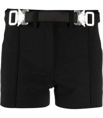 1017 alyx 9sm belted mini shorts