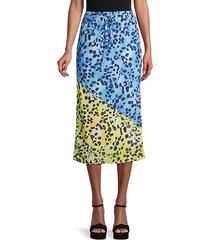 animal-print drawstring skirt