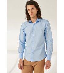 camisa celeste prototype icaria