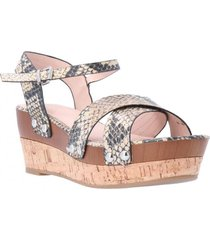 sandalia ashlee natural snake we love shoes