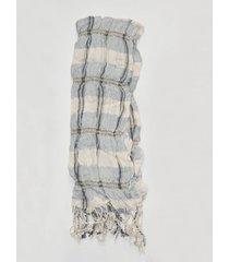 bufanda elastizada gris spiga 31
