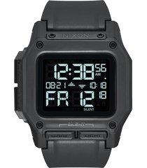 nixon regulus digital watch, 46mm in black at nordstrom