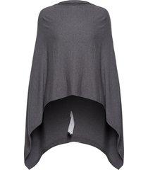 u2556, poncho poncho regnkläder grå saint tropez