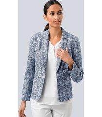 blazer alba moda marine