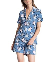calida cosy flowers cotton short pyjama * gratis verzending *