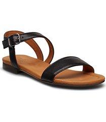 sandals 8714 shoes summer shoes flat sandals svart billi bi