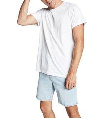 cotton on men's straight stretch denim shorts