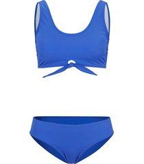 bikini a bustier (set 2 pezzi) sostenibile (blu) - bpc bonprix collection
