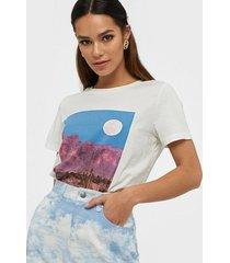 vero moda vmdesert s/s printed t-shirt vip ga t-shirts