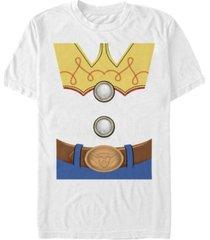 disney pixar men's toy story jessie costume short sleeve t-shirt