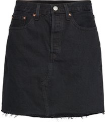 hr decon iconic bf skirt left knälång kjol blå levi´s women