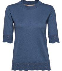 pullover t-shirts & tops knitted t-shirts/tops blå noa noa