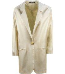 tagliatore beige fabric bruna coat