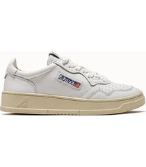sneakers autry low colore bianco
