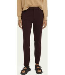 scotch & soda lowry slim-fit tapered trousers