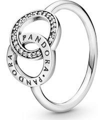 anel círculos pandora signature