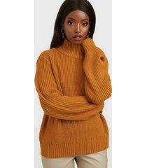 noisy may nmtommy l/s high neck knit sp stickade tröjor
