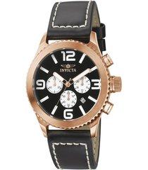 reloj invicta negro modelo 14an para hombres, colección specialty