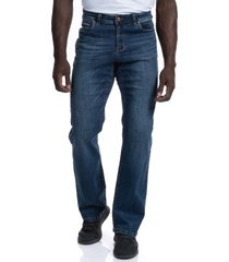 barbell apparel relaxed athletic fit jeans, size 38 x 34 in medium distressed at nordstrom