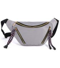 women's twist tassel fanny pack bag