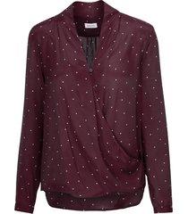 wraparound blouse regular fit
