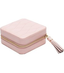wolf 'caroline' travel jewelry case - pink