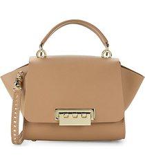 eartha leather satchel crossbody bag