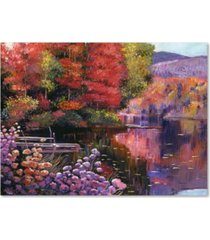 "david lloyd glover 'reflections of a perfect moment' canvas art - 24"" x 32"""