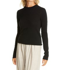women's vince slim fit long sleeve cashmere sweater, size small
