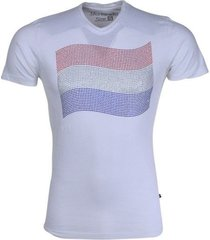 new republic koningsdag t-shirt - vlag strass stenen wit