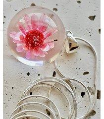naszyjnik z kwiatkiem