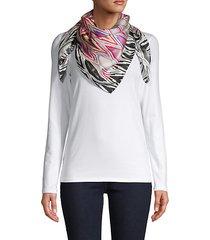 foulard silk scarf