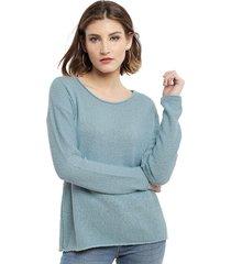 sweater esprit menta - calce holgado