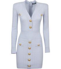balmain knit dress