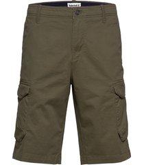 t-l str twll crgo shrt shorts cargo shorts grön timberland