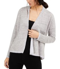 eileen fisher linen slouchy cardigan
