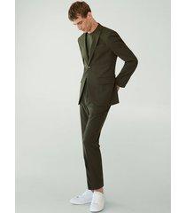 slim-fit pantalon