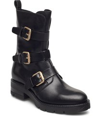 bikerboot shoes boots ankle boots ankle boot - flat svart apair