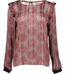 blouse top ruffle