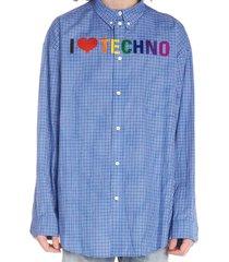 balenciaga i love techno shirt
