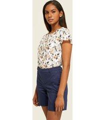 camiseta floral-xs