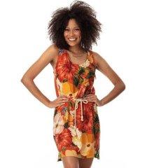 vestido clara arruda viscose utilitario 50686 - feminino