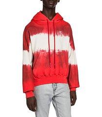 arrow tie-dye hoodie
