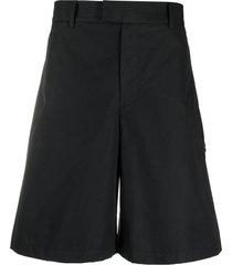 a-cold-wall* wide-leg bermuda shorts - black
