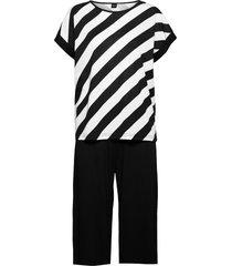 ladies pyjamas, kulma pyjamas svart nanso