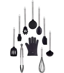 hamilton beach 10-piece nylon silicon kitchen gadget set