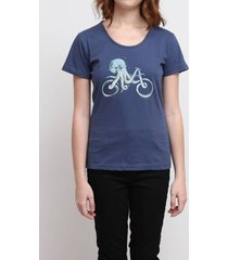 camiseta octopus bike