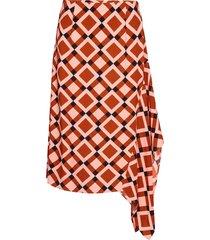 grama skirt knälång kjol orange second female